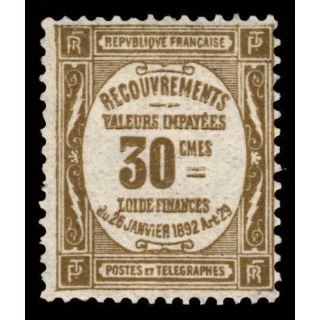 France Taxe N° 46 - Neuf(s) sans charnière