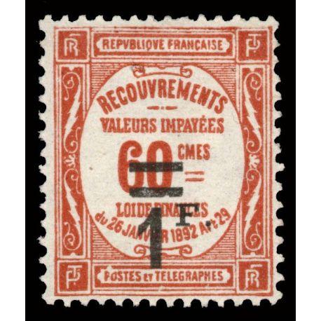 France Taxe N° 53 - Neuf(s) sans charnière