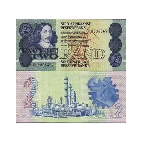 Billet de collection Afrique Du Sud Pk N° 118 - 2 Rand