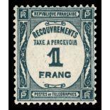 Timbre taxe France N° 60 neuf sans charnière