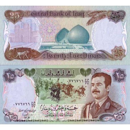 Irak - Pk N° 73 - Billet de 25 Dinars