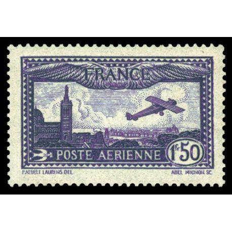 Timbre poste aérienne France N° 6 neuf sans charnière
