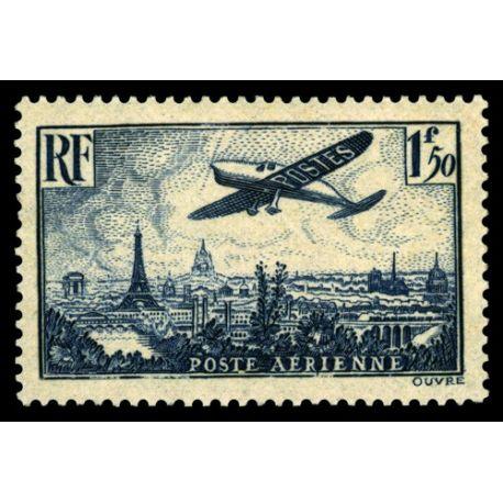 Timbre poste aérienne France N° 9 neuf sans charnière