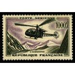 El correo aéreo francés sello N ° 37 nuevos sin charnela