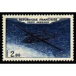Timbre poste aérienne France N° 38/41 neuf sans charnière