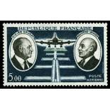 El correo aéreo francés sello N ° 46 nuevos sin charnela
