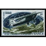 La posta aerea francese francobollo N ° 50 Nuevo non linguellato