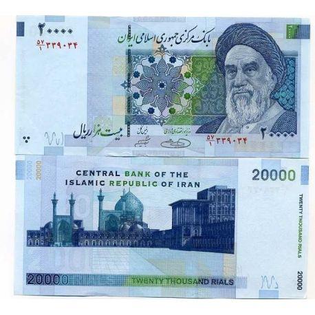 Billets de collection Billets collection Iran Pk N° 148 - 20 000 Rials Billets d'Iran 7,00 €