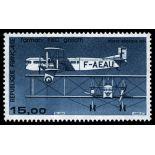 La posta aerea francese francobollo N ° 57 Nuevo non linguellato