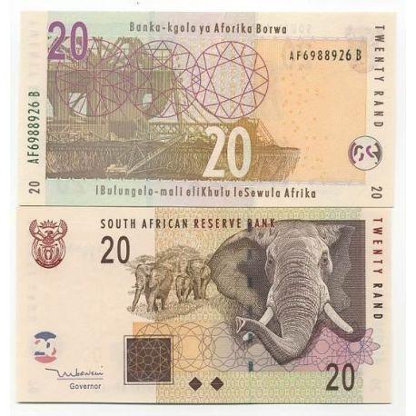-Pk Nr. 129 - Ticket von 20 Rand Südafrika