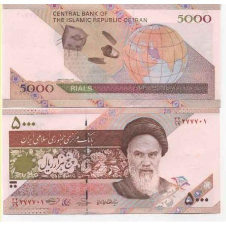 Billets de collection Billets banque Iran Pk N° 149 - 50000 Rials Billets d'Iran 11,00 €