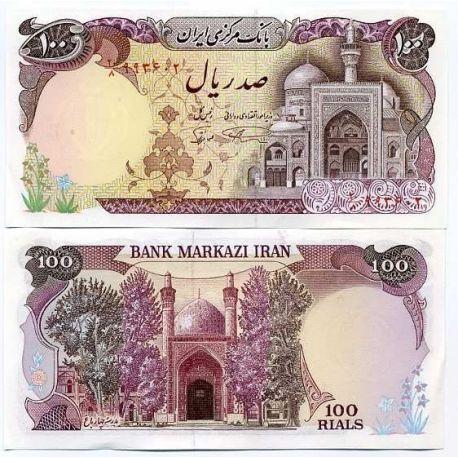 Iran - Pk N° 135 - Billet de 100 Rials