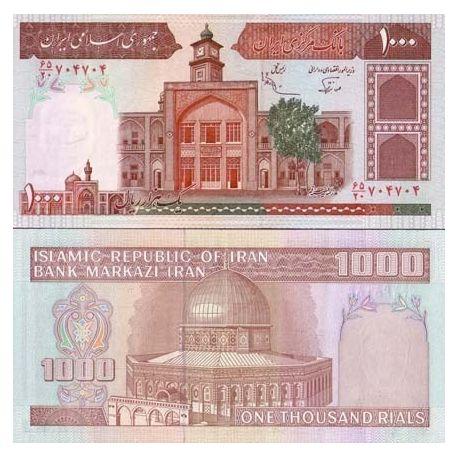 Billets de collection Billets banque Iran Pk N° 138 - 1000 Rials Billets d'Iran 3,50 €