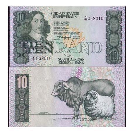 Billets de collection Billets collection Afrique Du Sud Pk N° 120 - 10 Rand Billets d'Afrique du Sud 20,00 €
