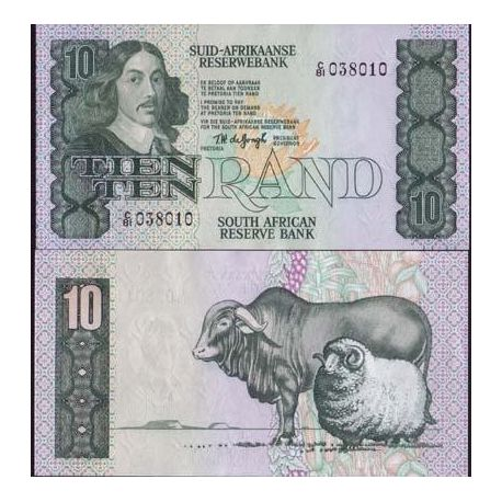 South Africa - Pk # 120 - Ticket 10 Rand