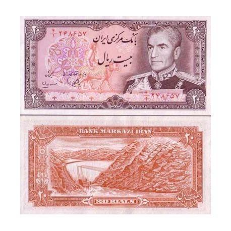 billet de banque iran