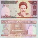 Colección de billetes irán Pick número 143 - 1000 Rial