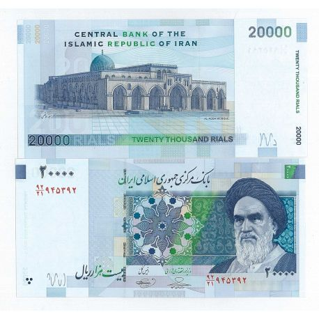 Billets de collection Billets collection Iran Pk N° 153 - 20000 Rials Billets d'Iran 2,00 €
