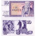 Banknote Island Pk Nr. 48 - 10 Kronur