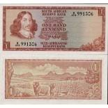 Banknote South Africa Pick number 115 - 1 Rand 1973