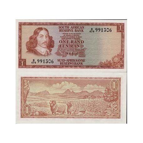 Billets de collection Billet de banque Afrique Du Sud Pk N° 115 - 1 Rand Billets d'Afrique du Sud 8,00 €