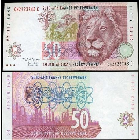 South Africa - Pk # 125 - 50 Note Rand