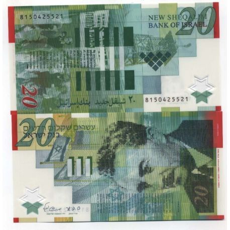 Billets de collection Billet de collection Israel Pk N° 64 - 20 Sheqalim Billets d'Israel 14,00 €