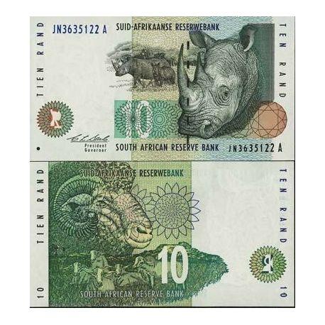 Afrique Du Sud - Pk N° 123 - Billet de 10 Rand