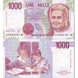 Billet de banque Italie Pk N° 114 - 1000 Lire