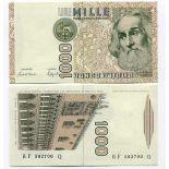 Billet de collection Italie Pk N° 109 - 1000 Lire
