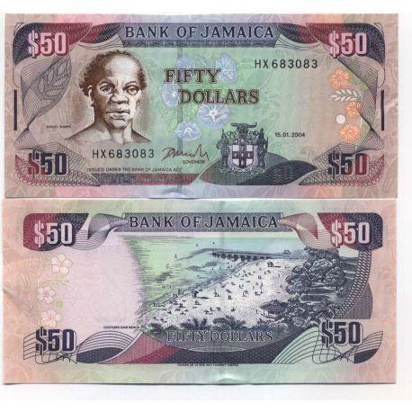 Jamaique - Pk N° 79 - Billet de 50 Dollars