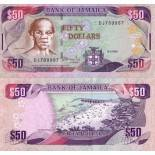 Billets collection Jamaique Pk N° 73 - 50 Dollars