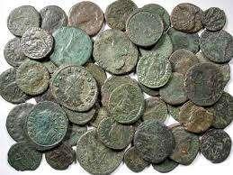 Numismatique Pièces de monnaies à nettoyer