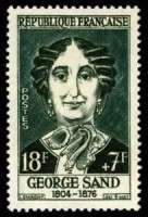 Timbre Georges Sand