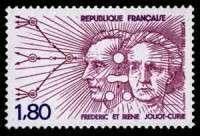 Timbre Irène Joliot Curie