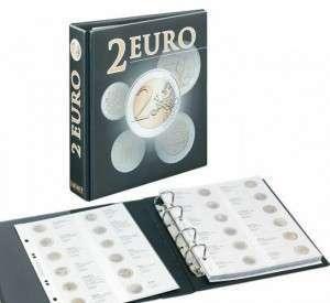 Classeur monnaie de 2 euros