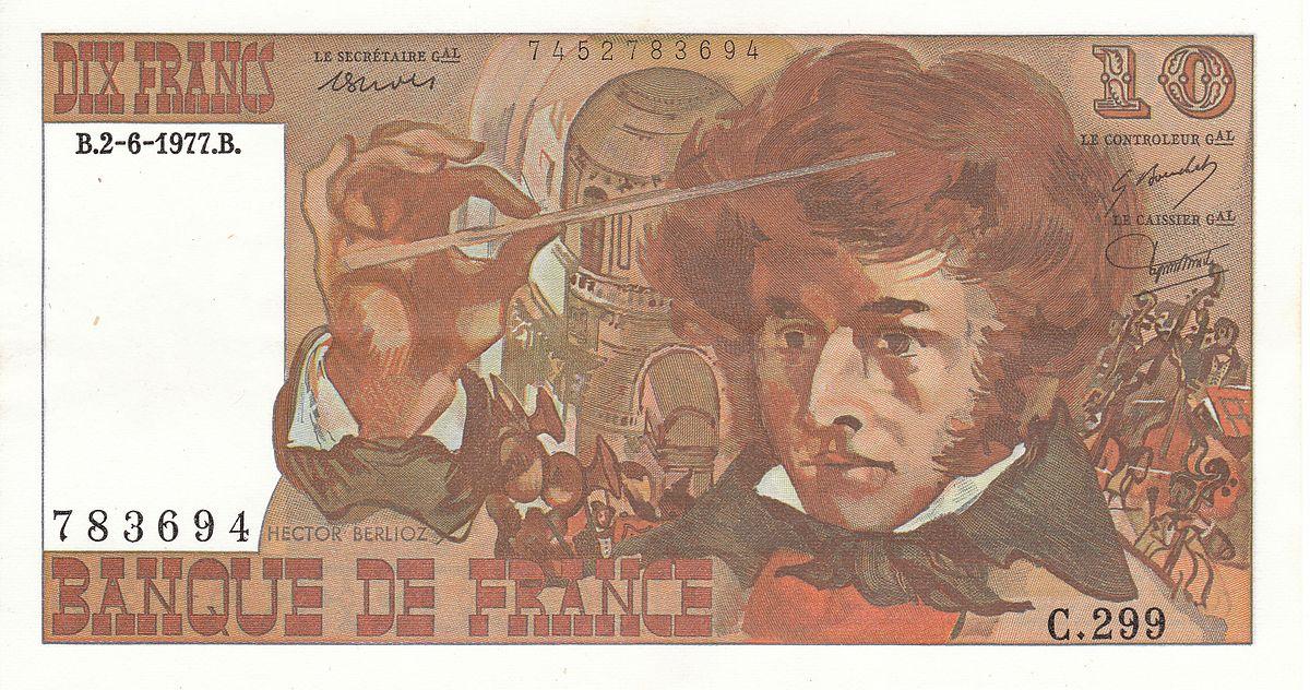 10 francs Berlioz