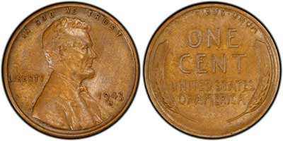 1943-S Lincoln Cent