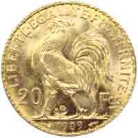 Le Napoléon 20 francs