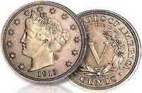 Liberty Head nickel 1913