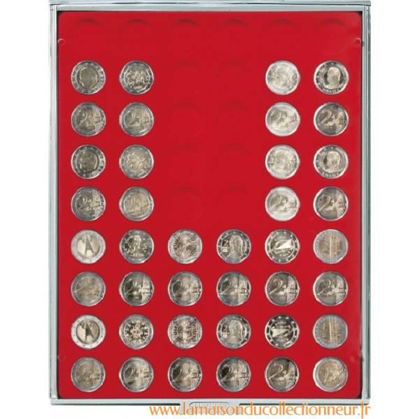 Box Lindner pour pièces de collection