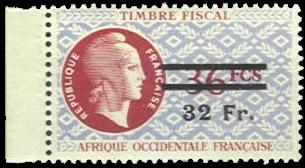 Timbre fiscal Dulac