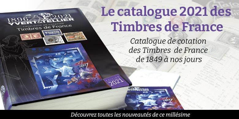 Cataloque Yvert et Tellier France 2021