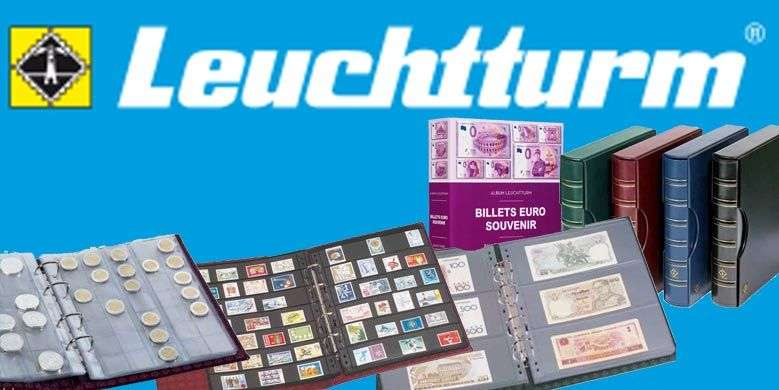 Leuchtturm pour numismates, philatélistes, billetophiles, etc...