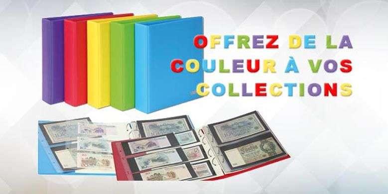 Mettez de la couleur dans vos collections