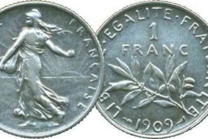 The Franc: origins with the euro